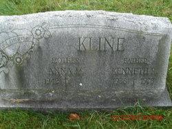 "Anna M. ""Annie"" <I>Kratzer</I> Kline"
