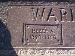 Heber A Warntz