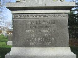 Oren L Robinson