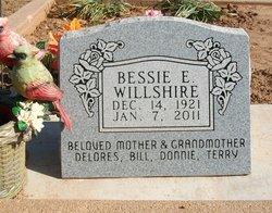 Bessie E. Willshire