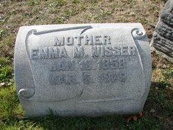 Emma M <I>Oldt</I> Wisser