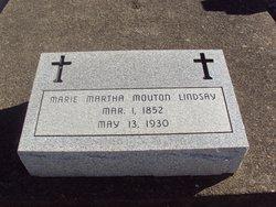 Marie Martha <I>Mouton</I> Lindsay