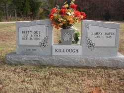 Betty Sue <I>Hunt</I> Killough
