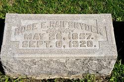 Rose E. <I>Hall</I> Raifsnyder