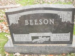 E Pauline Beeson