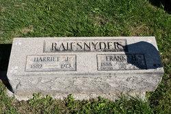Harriet <I>Davis</I> Raifsnyder