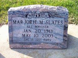 Marjorie M <I>Waisner</I> Slates