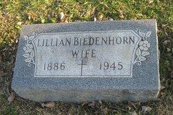 Lillian <I>Brueggmeyer</I> Biedenhorn
