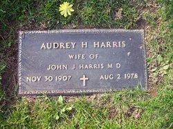 Audrey H Harris