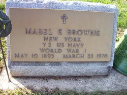 Mabel E <I>Houston</I> Browne