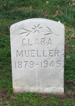 Clara <I>Weise</I> Mueller