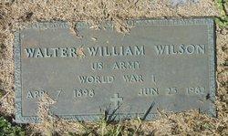 Walter William Wilson