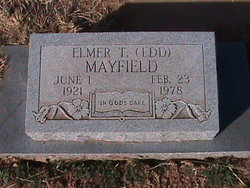 "Elmer T. ""Edd"" Mayfield"