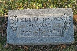 Frederick Bernard Biedenhorn