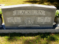 Eva Lena <I>Bohannon</I> Blackburn