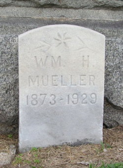 William H Mueller