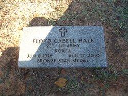 Sgt Floyd Cabell Hale