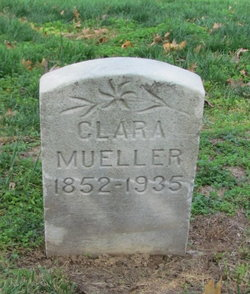 Clara <I>Hesse</I> Mueller