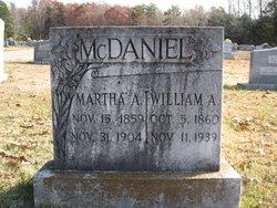 Martha Ann <I>Garrard</I> McDaniel
