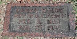Sarah Maude Fender