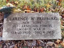 Clarence W Freeburg