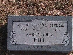 Aaron Crim Hill