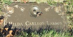 Hilda <I>Carlson</I> Larson