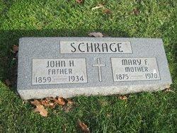 Mary Frances <I>Reisinger</I> Schrage