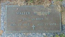 Walter M. Kolb