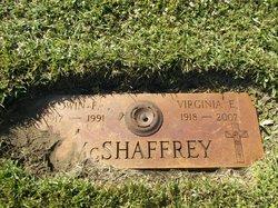 Virginia E McShaffrey
