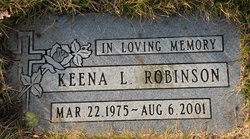 Keena L Robinson
