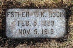 Esther T.K. Rodin
