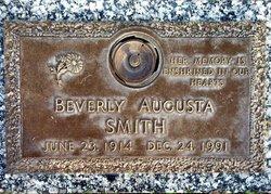 Beverly Augusta <I>Zepf</I> Smith