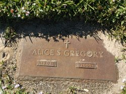 Alice S Gregory