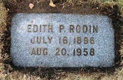 Edith P. Rodin