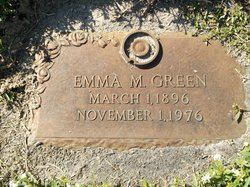 Emma M Green