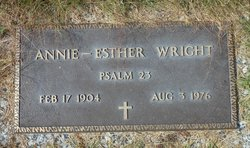 Annie-Esther Wright