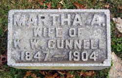 Martha Ann <I>Wigginton</I> Gunnell