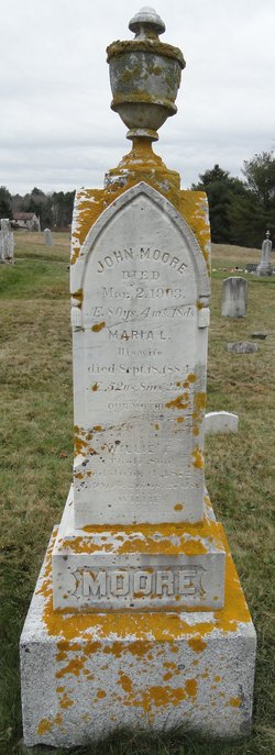 Maria Lucy <I>Page</I> Moore