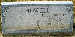 Lucille <I>Knuckley</I> Howell