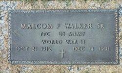 Malcolm F. Walker, Sr