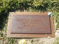 Clifton W Spencer