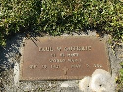 Paul W Guthrie