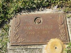 Mae Guthrie
