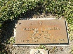 William J Turner