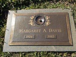 Margaret A Davis