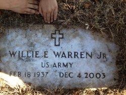 Willie E Warren, Jr