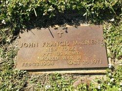 John Francis MacNeny