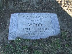 Cora Augusta <I>Rose</I> Wood