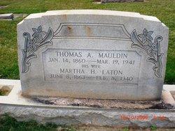 Martha H <I>Laton</I> Mauldin